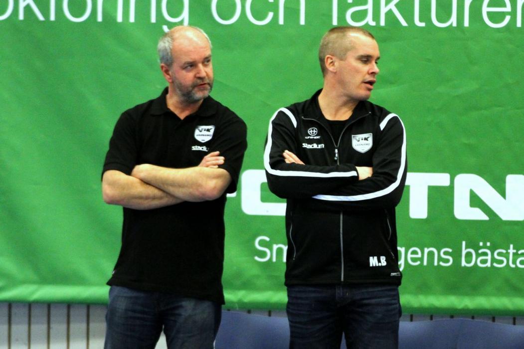 _Coach Kjell Nivemark och Magnus Bäckman